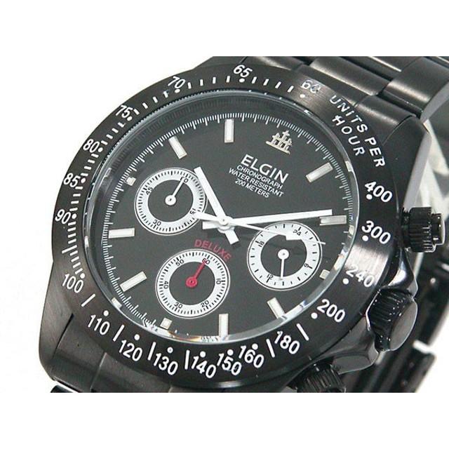 a78aff44c4 エルジン ELGIN 腕時計 クロノグラフ メンズ FK1308B-B 通販 LINE ...