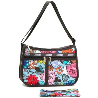 LeSportsac レスポートサック deluxe everyday bag ポーチ付き 7507 D183