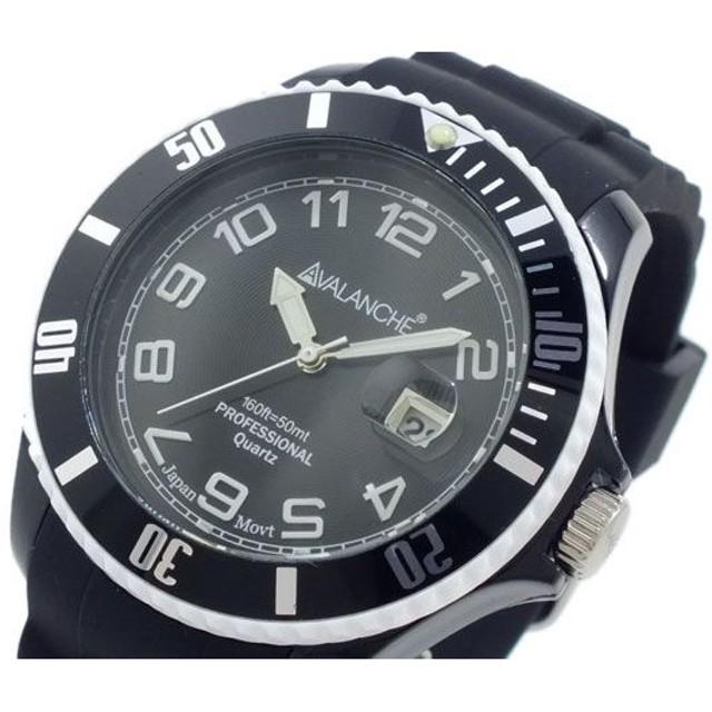 アバランチ アバランチ AVALANCHE 腕時計 AV-1019S-BKW-44