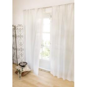 幅100×丈88cm 見えにくく明るい機能ボイルカーテン(2枚組) 690501