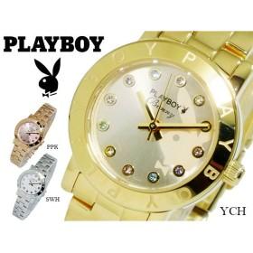 プレイボーイ PLAY BOY BUNNY クオーツ レディース 腕時計 PB003YCH