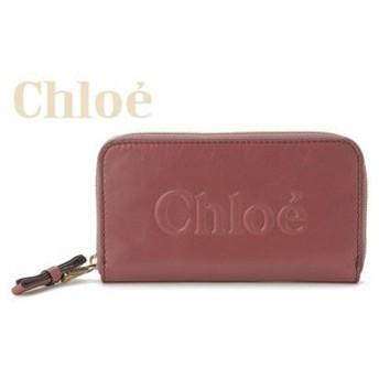 クロエ chloe シャドー ラウンドファスナー 長財布 0320-7a733-07c