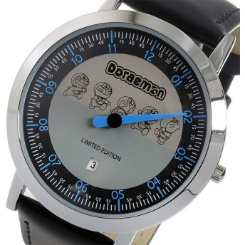 ドラえもんウォッチ クオーツ 1000本限定 1針時計 腕時計 DO-0020B グレー