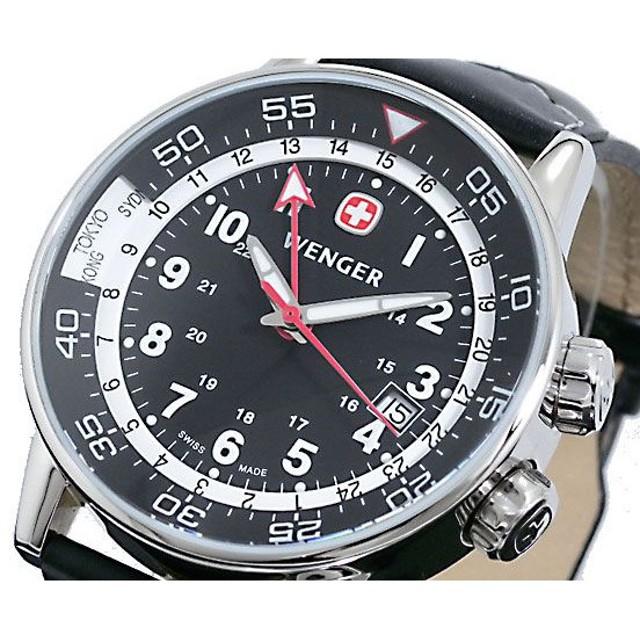 ウェンガー WENGER 腕時計 コマンドGMT 74745