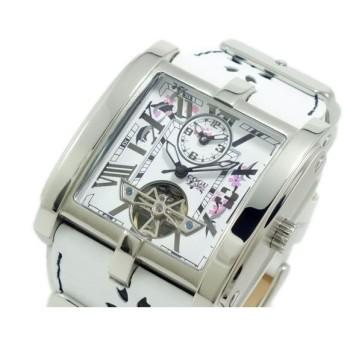 コグ COGU 自動巻き 腕時計 C58SKR-WH
