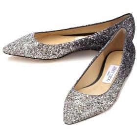 ジミーチュウ JIMMY CHOO 靴 パンプス グリッター ROMYFLAT KPX 0152