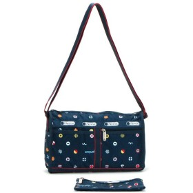 lesportsac レスポートサック deluxe shoulder satchel yacht club 7519