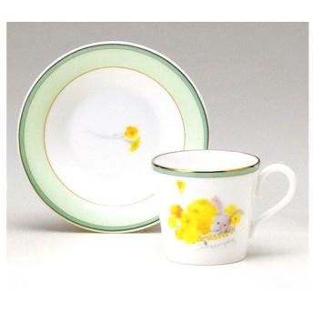 エスプレッソ碗皿(1客) 「たんぽぽとうさぎ」 いわさきちひろ 50674-20722