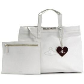 ヴィヴィアン ウエストウッド vivienne westwood トートバッグ paper bag 13279 md shopper white wt