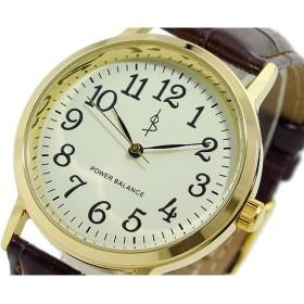 パワーバランス POWER BALANCE 4年バッテリー メンズ 腕時計 PBW-1MG