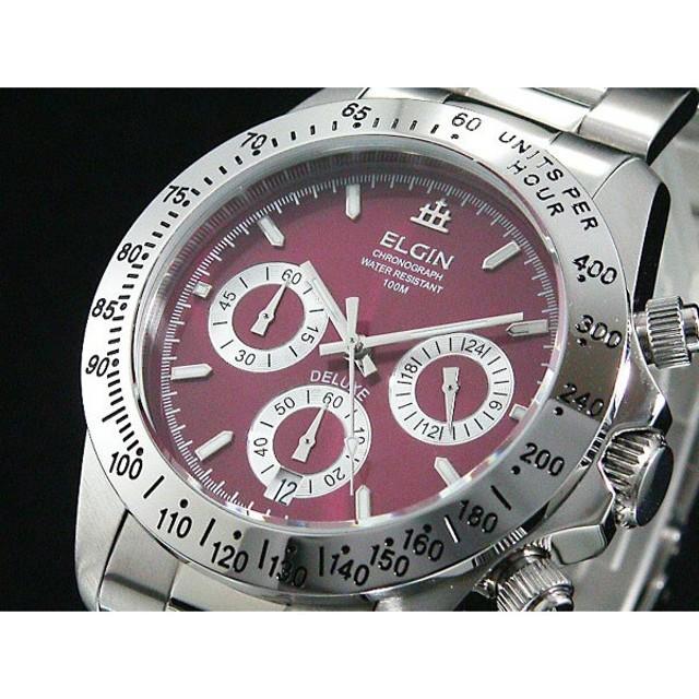 797f35ce2d エルジン ELGIN 腕時計 クロノグラフ メンズ FK1359S-R 通販 LINE ...