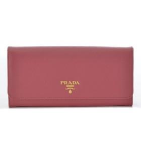 プラダ PRADA 財布 サイフ さいふ 二つ折り長財布 型押しカーフスキン 1MH132 QWA 505