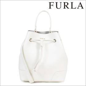 FURLA フルラ バッグ ショルダーバッグ レディース ホワイト STACY S DRAWSTRING PETALO 768523