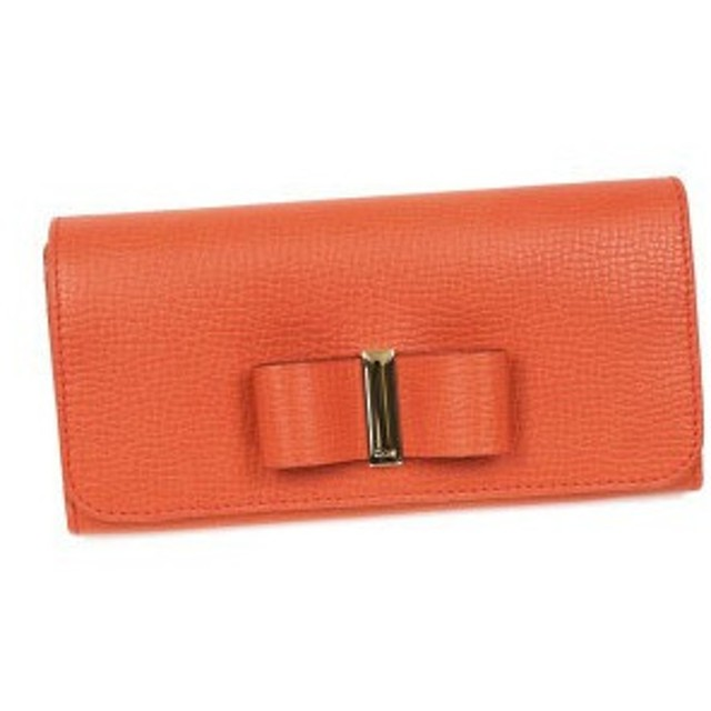 クロエ chloe 長財布 長札 3p0291 long wallet with flap coral pop pk
