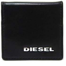 ディーゼル DIESEL メンズ コインケース 小銭入れ X03369-PR778-H5693 ブラック/キャメル