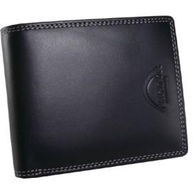 ARCDOR アークドール 二つ折り短財布 メンズ AD60043-11 黒