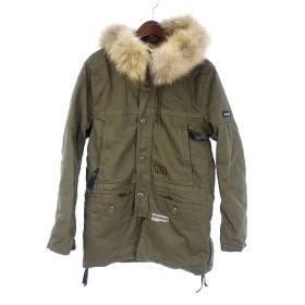 ネイバーフッド/NEIGHBORHOOD THUNDER STRUCKジャケットコート サイズ メ M カーキ ランクA 101 11E17 (中古)