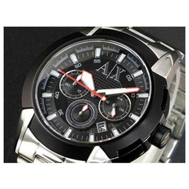 アルマーニ エクスチェンジ クロノグラフ 腕時計 AX1177