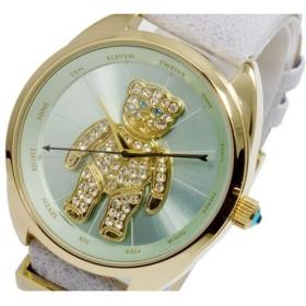 ヴィヴィアン ウエストウッド vivienne westwood クレイジーベア クオーツ レディース 腕時計 vv103blgy