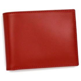 エッティンガー Ettinger 二つ折り財布 小銭入 BRIDLE HIDE COLLECTI 141JR BILLFOLD WITH 3 C/C & COIN PURS RED