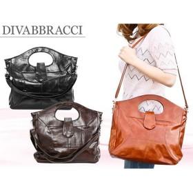 ディーバブラッチ DIVABBRACCI ショルダーバッグ A-11-10 ブラック