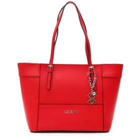 ゲス GUESS トートバッグ VY453522 DELANEY SMALL CLASSIC TOTE CNY RED RED