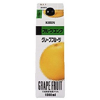 キリン フルーツコンク グレープフルーツ 1000ml(1L)×6本