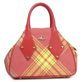 ヴィヴィアン ウエストウッド vivienne westwood ハンドバッグ derby leather 5589 mac york/rosso d.or