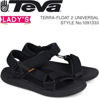Teva テバ サンダル レディース テラフロート 2 ユニバーサル TERRA-FLOAT 2 UNIVERSAL ブラック 1091333