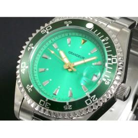 グランドール GRANDEUR 腕時計 自動巻き メンズ OMX010W1