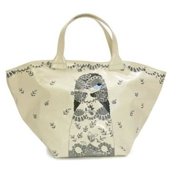 marc by marc jacobs マークバイマークジェイコブス トートバッグ huge mabel cotton base pvc 2/m393118