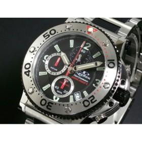 ケンテックス Kentex マリンマン 限定モデル 腕時計 クロノグラフ S601M-02