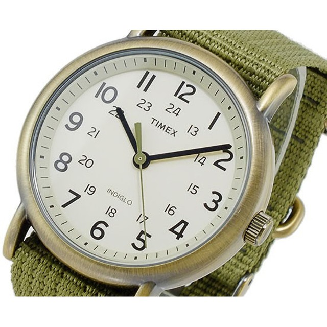 タイメックス ウィークエンダー セントラルパーク クオーツ メンズ 腕時計 T2N894