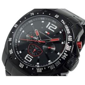 トミー ヒルフィガー 腕時計 メンズ 1790870 ブラック