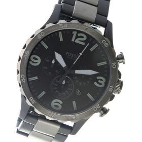 フォッシル FOSSIL クロノ クオーツ メンズ 腕時計 時計 JR1527 ブラック
