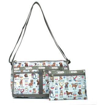 LeSportsac レスポートサック マイバディ DELUXE SHOULDER SATCHEL ポーチ付き 7519
