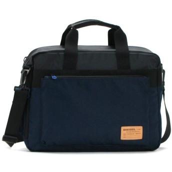 ディーゼル diesel バッグ 斜めがけ x02405 briefcace black/blue nights bk/bl