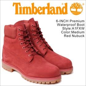 ティンバーランド 6インチ メンズ timberland ブーツ プレミアム 6INCHI 6-INCH PREMIUM WATERPLOOF BOOTS A1FXW Wワイズ レッド 防水
