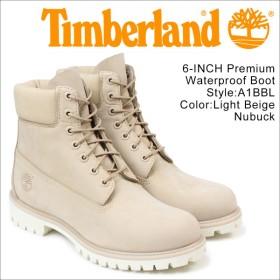 ティンバーランド 6インチ メンズ timberland ブーツ プレミアム 6INCHI 6-INCH PREMIUM WATERPLOOF BOOTS A1BBL Wワイズ ベージュ 防水