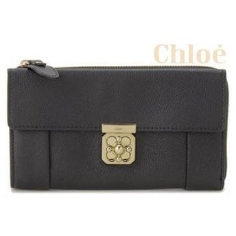 クロエ chloe エルシー elsie ラウンドファスナー 長財布 0591-637-001