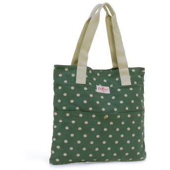 CATH KIDSTON キャス キッドソン FASHION WASHED COTTON TOTE W/POCKET 255110