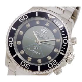 ジョンハリソン JOHN HARRISON ソーラー電波 メンズ 腕時計 時計 JH-023BB