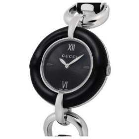 グッチ GUCCI バンブー クオーツ レディース 腕時計 YA132405 ブラック