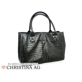 CHRISTINA A.G ハンドバッグ E-946