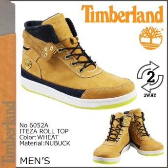 ティンバーランド Timberland イテザ ロールトップ ブーツ ITEZA ROLL-TOP ヌバック 6052A ウィート×デニム