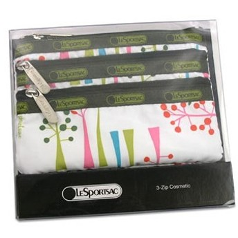 レスポートサック lesportsac ポーチ バッグ ワンダー 6501 boxed 3-zip cosmetic