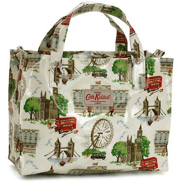 キャス・キッドソン CATH KIDSTON トートバッグ FASHION 253925 BOX BAG WHITE