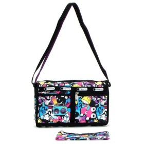 LeSportsac レスポートサック delux shoulder satchel 7519