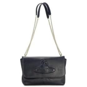 ヴィヴィアン ウエストウッド vivienne westwood ショルダーバッグ chelsea 13235 lg bag with flap black bk