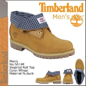 ティンバーランド Timberland インスパイアド クラシックス ロールトップ ブーツ ウィート メンズ 6614R
